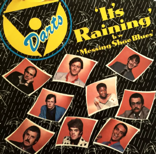 "Darts ‎- It's Raining (7"") (VG+/VG)"